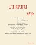 Philippe Sollers et Marcelin Pleynet - L'infini N° 129, automne 2014 : .