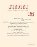 Philippe Sollers et Julia Kristeva - L'infini N° 131 Printemps 201 : Coke.