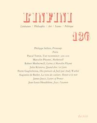 Philippe Sollers et Pascal Torrin - L'infini N°136, été 2016 : Printemps.