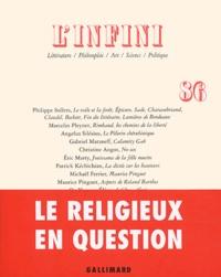 Philippe Sollers et Marcelin Pleynet - L'infini N° 86 Printemps 2004 : .