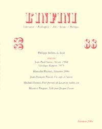 Jean-Paul Sartre et Marcelin Pleynet - L'infini N° 88 : Vérités.
