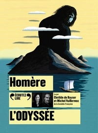 Homère - L'Odyssée. 1 CD audio MP3