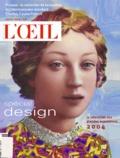 Pierre Martin-Vivier et Anouchka Roggeman - L'Oeil N° 554 Janvier 2004 : Spécial design.