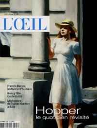 Yves Kobry et Philippe Piguet - L'Oeil N° 558 mai 2004 : Hopper, le quotidien revisité.