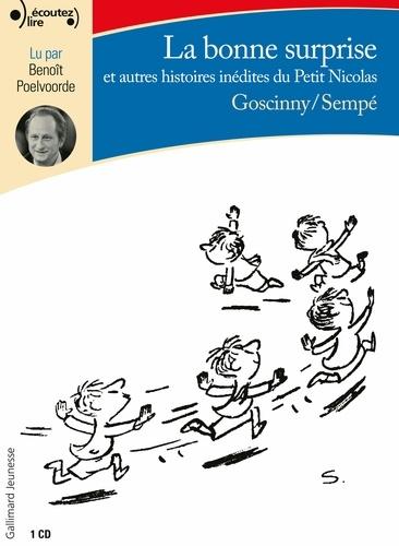 La bonne surprise et autres histoires inédites du Petit Nicolas  avec 1 CD audio MP3