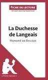 Marine Riguet - La duchesse de Langeais d'Honoré de Balzac (Fiche de lecture).
