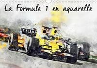 K.a. Sudpastel - CALVENDO Art  : La Formule 1 en aquarelle (Calendrier mural 2021 DIN A4 horizontal) - Série de 12 tableaux, créations originales de formules 1 actuelles. (Calendrier mensuel, 14 Pages ).