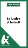 Etienne Hacken - La justice et le droit (fiche notion) - Comprendre la philosophe.