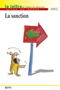 René Daval et André Ciavaldini - La lettre de l'enfance et de l'adolescence N° 57, Septembre 200 : La sanction.