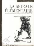 Jacques Jouet et Pierre Martin - La Licorne N° 81/2007 : La morale élémentaire - Aventures d'une forme poétique, Queneau, Oulipo, etc. 1 CD audio
