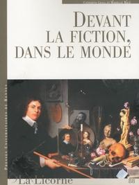 Catherine Grall et Marielle Macé - La Licorne N° 88 : Devant la fiction, dans le monde.