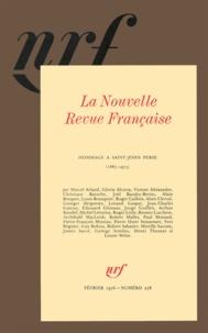 Gallimard - La Nouvelle Revue Française N° 278, Février 1976 : Hommage à Saint-John Perse.
