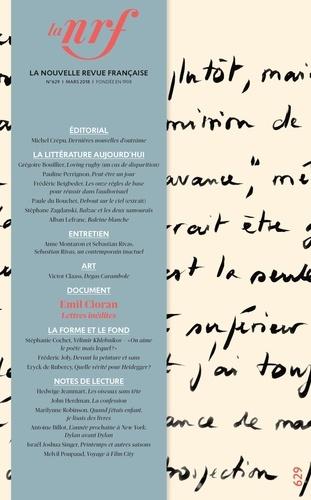 Michel Crépu - La Nouvelle Revue Française N° 629, mars 2018 : .