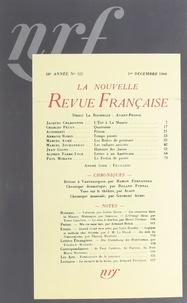 Collectif - La NRF Décembre 1940 : .