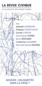 Jean-Philippe Moinet - La Revue Civique N° 11, Printemps-été : Solidarités dans la crise ?.