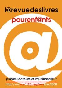 Françoise Ballanger - La revue des livres pour enfants N° 195, Septembre 20 : Jeunes.lecteurs.et.multimédi@.fr.