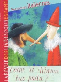 Françoise Ballanger - La revue des livres pour enfants N° 203, Février 2002 : Rencontres italiennes.