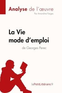 Amandine Farges et  lePetitLitteraire - Fiche de lecture  : La Vie mode d'emploi de Georges Perec (Analyse de l'oeuvre) - Comprendre la littérature avec lePetitLittéraire.fr.