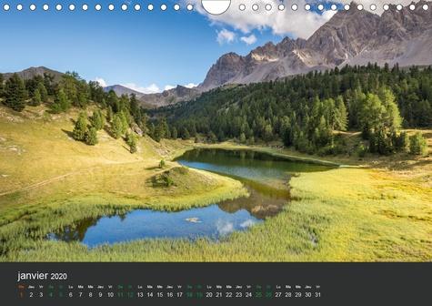 Lacs de montagne. Miroir des cimes (Calendrier mural 2020 DIN A4 horizontal). Découvrez chaque mois, des photographies exceptionnelles de lacs de Montagne – Calendrier mensuel (Calendrier mensuel, 14 Pages )