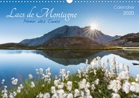 Michel Cavalier - Lacs de montagne. Miroir des cimes (Calendrier mural 2020 DIN A3 horizontal) - Découvrez chaque mois, des photographies exceptionnelles de lacs de Montagne – Calendrier mensuel (Calendrier mensuel, 14 Pages ).