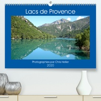 Chris Hellier (photos copyright) - Lacs de Provence (Calendrier supérieur 2020 DIN A2 horizontal) - Une année de voyage autour des plus beaux lacs de Provence (Calendrier mensuel, 14 Pages ).