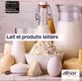 AFNOR - Lait et produits laitiers. 1 Cédérom