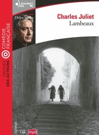 Charles Juliet - Lambeaux. 1 CD audio MP3