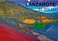 Jean-Luc Bohin - Lanzarote El Golfo - Une exposition d'art tellurique unique au monde.