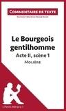 Marine Riguet - Le bourgeois gentilhomme de Molière : Acte II, Scène 1 - Commentaire de texte.