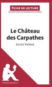 Dominique Coutant-Defer - Le château des Carpathes de Jules Verne - Fiche de lecture.