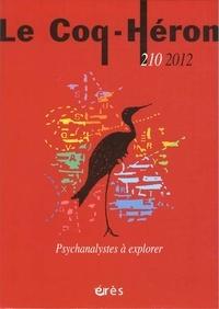 Eva Brabant-Gérö - Le Coq-Héron N° 210 septembre 201 : Psychanalystes à explorer.