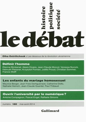 Marcel Gauchet - Le Débat N° 180, mai-août 201 : .