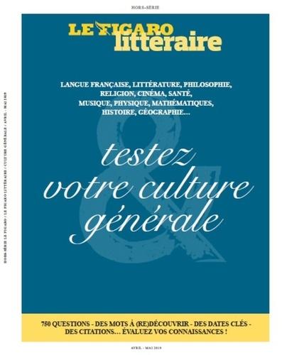 Etienne de Montety - Le Figaro hors-série  : Testez votre culture générale.