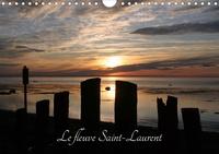 Angel Vallée - Le fleuve Saint-Laurent (Calendrier mural 2020 DIN A4 horizontal) - Le fleuve St-Laurent est un géant dont la biodiversité doit être protégée par des gestes concrets (Calendrier mensuel, 14 Pages ).