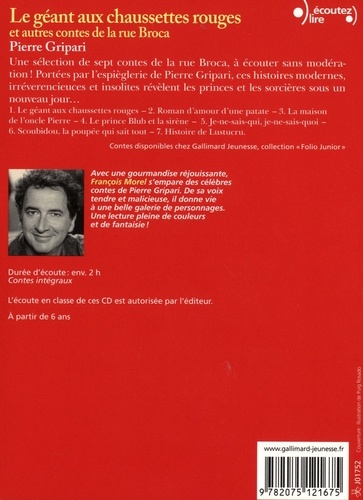Le géant aux chaussettes rouges et autres contes de la rue Broca  avec 2 CD audio