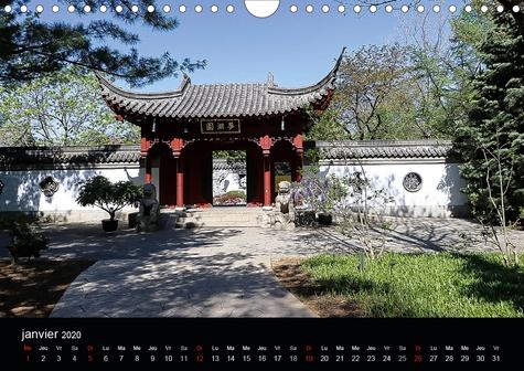 Le Jardin de Chine, Montréal, Canada (Calendrier mural 2020 DIN A4 horizontal). Le plus grand et plus beau jardin chinois en dehors de la Chine (Calendrier mensuel, 14 Pages )