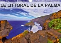 """Jean-Luc Bohin - Le littoral de La Palma - Coulées de lave, falaises abruptes, plages de sable noir et plantes endémiques poussant parmi les roches de basalte, tel est le littoral particulier de celle que l'on appelle """"La Isla Bonita""""."""
