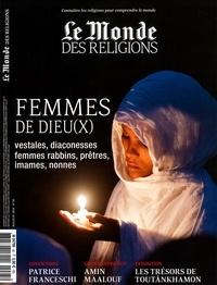Virginie Larousse - Le Monde des religions N° 95, mai-juin 2019 : Femmes de Dieu(x).