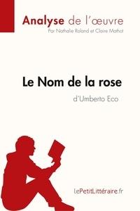 Nathalie Roland et Claire Mathot - Le Nom de la rose d'Umberto Eco.
