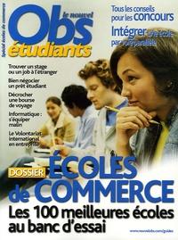 Patrick Fauconnier - Le Nouvel Obs Etudiants  : Spécial écoles de commerce.