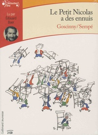 René Goscinny et  Sempé - Le petit Nicolas a des ennuis. 2 CD audio
