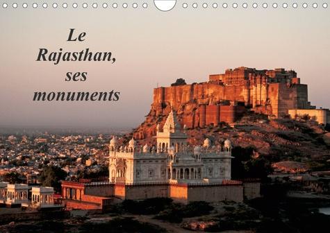 Le Rajasthan, ses monuments (Calendrier mural 2020 DIN A4 horizontal). L'Inde des princes et des seigneurs, vue à travers ses principaux monuments (Calendrier mensuel, 14 Pages )