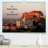 Franck Metois - Le Rajasthan, ses monuments (Calendrier supérieur 2020 DIN A2 horizontal) - L'Inde des princes et des seigneurs, vue à travers ses principaux monuments (Calendrier mensuel, 14 Pages ).