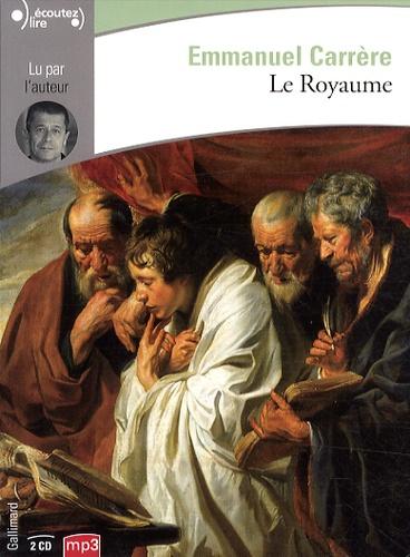 Emmanuel Carrère - Le royaume. 2 CD audio MP3