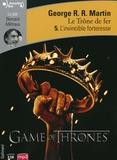 George R. R. Martin - Le trône de fer (A game of Thrones) Tome 5 : L'invincible forteresse. 2 CD audio MP3