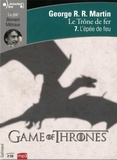 George R. R. Martin - Le trône de fer (A game of Thrones) Tome 7 : L'épee de feu. 2 CD audio MP3
