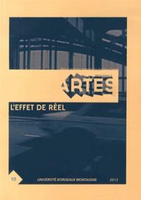 Pierre Sauvanet - Les Cahiers d'Artes N° 10/2013 : L'effet de réel.