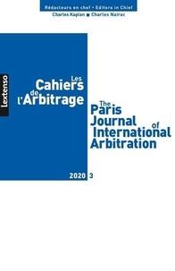 LGDJ - Les Cahiers de l'Arbitrage N° 3/2020 : .