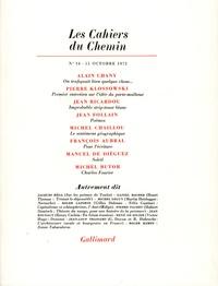 Collectifs - Les cahiers du Chemin N° 16 : .