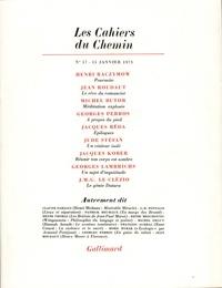 Collectifs - Les cahiers du Chemin N° 17 : .